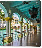 Resort In Dominican Republic Acrylic Print