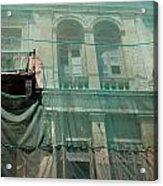 Restoration Of A Villa Acrylic Print