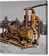 Retired Petroleum Pump Acrylic Print