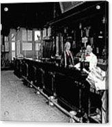 Reverse Angle Interior Cabinet Saloon 68 W. Congress Tucson Arizona 1910 Acrylic Print