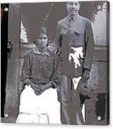 Revolutionary Couple In Studio Unknown Location 1915-1920-2014 Acrylic Print
