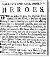 Revolutionary War Poster Acrylic Print