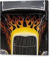 Riding The Flame Acrylic Print