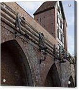 Riga Old City Walls Acrylic Print