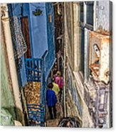 Rio De Janeiro Brazil - Favela Housing Acrylic Print