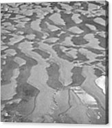 ripples in wet sand Playa De Las Teresitas North Tenerife Canary Islands Spain Acrylic Print