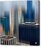 Rising Metropolis Acrylic Print