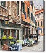 Ristorante Al Covo Impasto Acrylic Print