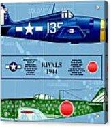 Rivals 17 Acrylic Print
