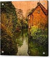 River Kennet Acrylic Print