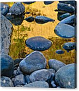 River Of Gold 2 Acrylic Print