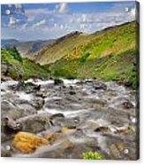 River San Juan  Acrylic Print