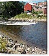 River Scene Acrylic Print