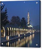 Rizvaniye Mosque And Halil-u Rahman Acrylic Print
