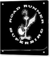 Road Runner Superbird Emblem Acrylic Print