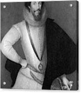 Robert Devereux (1566-1601) Acrylic Print