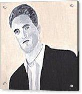 Robert Pattinson 147 Acrylic Print