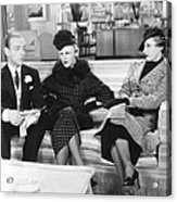 Roberta, From Left Fred Astaire, Ginger Acrylic Print