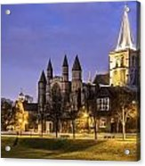Rochester Cathedral Acrylic Print