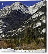 Rockies Acrylic Print by Tom Wilbert