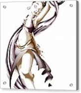 Rohesia Dancer Acrylic Print
