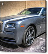 Rolls Royce Acrylic Print