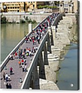 Roman Bridge In Cordoba Acrylic Print