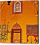 Room For Rumi's Sarcophagus In Konya-turkey  Acrylic Print