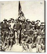 Roosevelt & Rough Riders Acrylic Print
