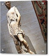 Rossellino's The David Of The Casa Martelli Acrylic Print