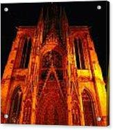 Rouen Church Acrylic Print