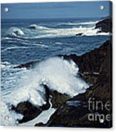 Rough Surf Acrylic Print