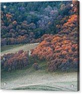Round Valley Sunrise Acrylic Print
