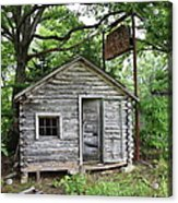 Route 66 - John's Modern Cabins Acrylic Print