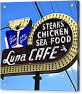 Route 66 - Luna Cafe Acrylic Print