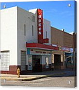 Route 66 - Odeon Theater Acrylic Print