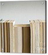 Row Of Books Acrylic Print