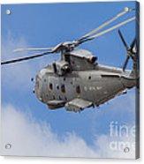 Royal Navy Eh-101 Merlin In Flight Acrylic Print