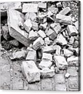 Rubble Acrylic Print
