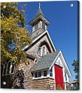 Rural Church Acrylic Print