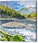 Rushing Valley Acrylic Print