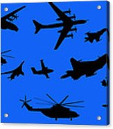Russian Aviation Acrylic Print