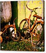 Rusty Bikes Acrylic Print
