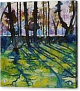Sacred Garden In Gotland Acrylic Print