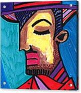 Sad Spaniard Acrylic Print