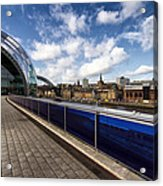 Sage Gateshead And Newcastle Skyline Acrylic Print