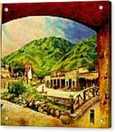 Saidpur Village Acrylic Print