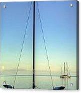 Sail Catamaran Acrylic Print