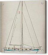 Sailboat 42 Acrylic Print