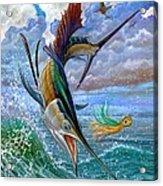 Sailfish And Lure Acrylic Print